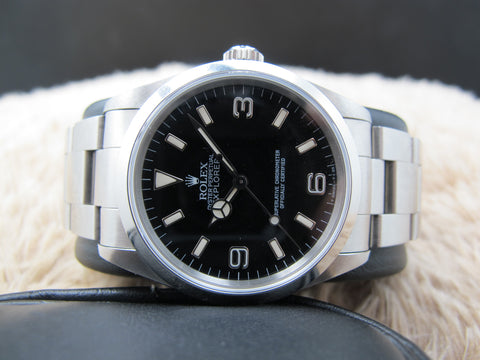 1997 Rolex EXPLORER 1 14270 (T25 Dial) with Full Set UNPOLISHED