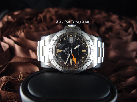 Rolex EXPLORER 2 1655 MK2 Matt Dial with Big Orange Hand