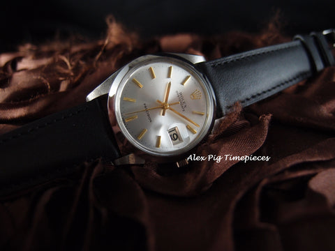 Rolex OYSTER DATE 6694 Original Silver Dial with Gold Markers