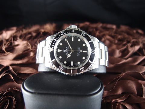 Rolex SUBMARINER 5513 with WG Marker Nice
