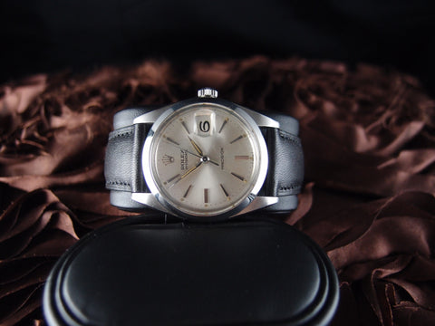 Rolex OYSTER DATE 6694 Original Silver Dial with Daphne Hands