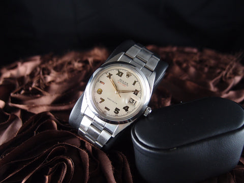Rolex OYSTER DATE 6694 with Unique California Dial
