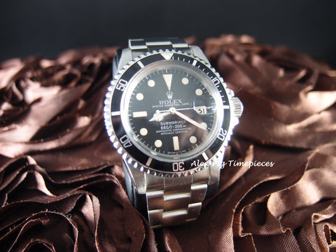 Rolex SUBMARINER 1680 Matt Dial with Nice Patina and Solid Oyster Band