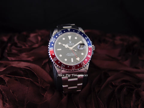 Rolex GMT MASTER 16700 Pepsi Red/Blue Bezel