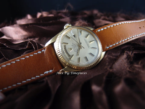 Rolex DAY-DATE 1803 18K Gold with Original Lemon Yellow Dial