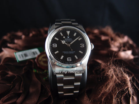 Rolex EXPLORER 1 114270 Black Dial Mint Condition