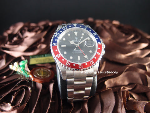 Rolex GMT MASTER 2 16710 Pepsi Red/Blue Bezel with BOX and PAPER [NEW]