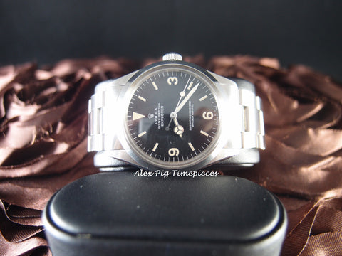 Rolex EXPLORER 1 1016 with Excellent Matt Dial and Nice Platina