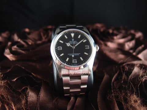 Rolex EXPLORER 1 114270 Black Dial with Mint Condition