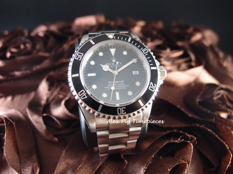 Rolex SEA DWELLER 16600 T25 Dial with Mint Condition