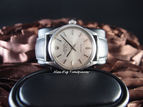 Rolex AIR KING 5500 Original Silver Dial in Mint Condition