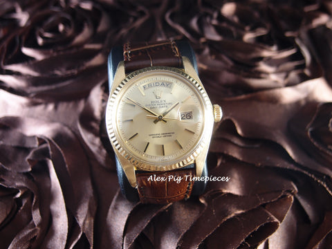 Rolex DAY-DATE 1803 18K Gold with Original Gold Dial