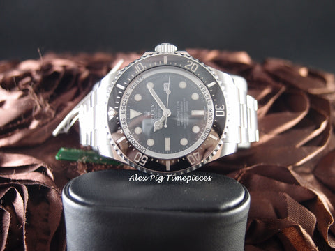 Rolex DEEPSEA SEA DWELLER 116660 Full Set with Box and PAPER