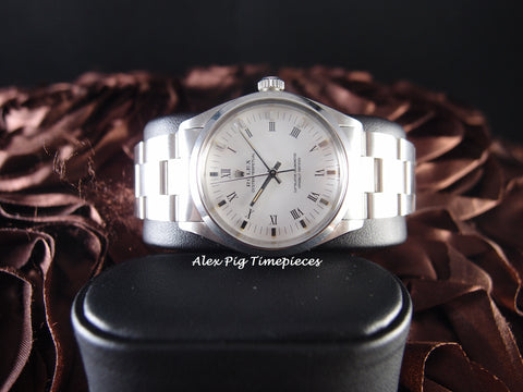 Rolex OYSTER PERPETUAL 1002 Original White Roman Dial