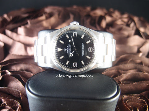 Rolex EXPLORER 1 14270 Black Dial with Mint Condition