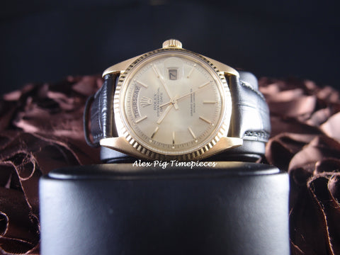 Rolex DAY-DATE 1803 18K Gold with Original Gold Dial (3 Chops)