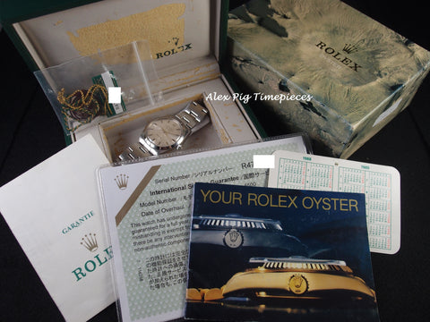 Rolex AIR KING 5500 Original Silver Dial with Box and Paper