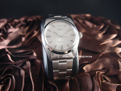 Rolex OYSTER 6426 Original Silver Dial with Box and Paper RARE