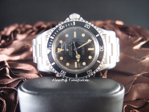 Rolex SUBMARINER 5513 Gilt Dial Full Set with Box and Papers