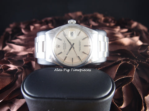 Rolex DATEJUST 1600 SS ORIGINAL SIlver Dial with Oyster Band