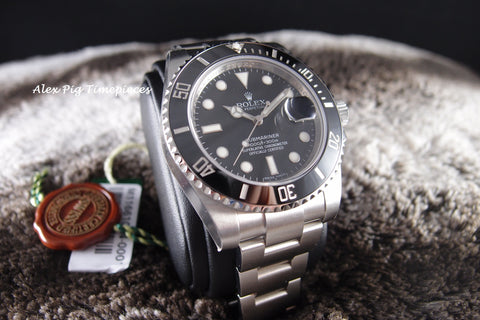 Rolex SUBMARINER 116610LN Stainless Steel Ceramic Bezel Full Set