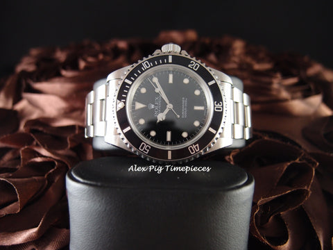 Rolex SUBMARINER 14060 with Box and Paper