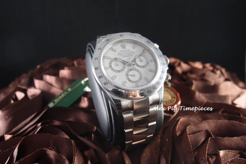 Rolex DAYTONA 116520 Stainless Steel White Dial Full Set