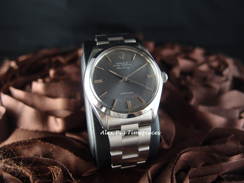 Rolex AIR KING 5500 Original Grey Dial with Solid Oyster Band