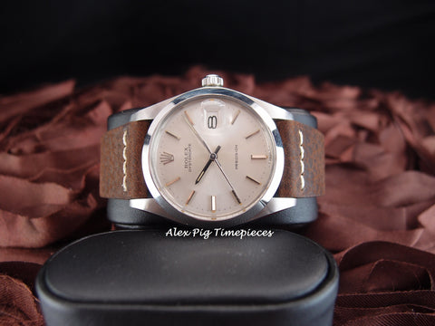 Rolex OYSTER DATE 6694 Original Silver Dial with Silver Hands