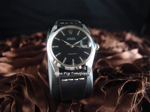 Rolex OYSTER DATE 6694 Original Black Dial with Silver Hands