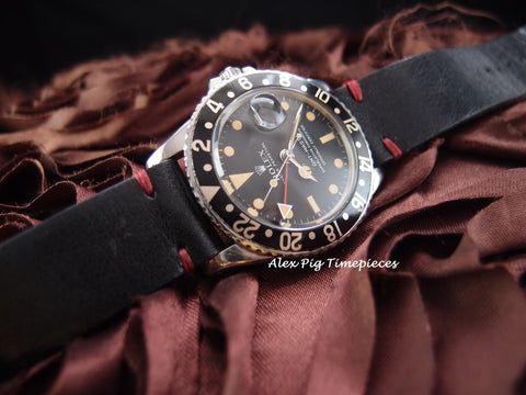 Rolex GMT MASTER 1675 Matt Dial with Heavy Patina