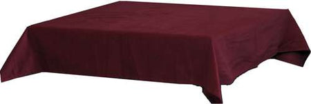 "Standard Bridge Table Cloth - Red (42"" square)"
