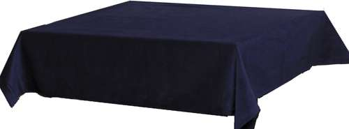"Standard Bridge Table Cloth - Navy Blue (45"" square)"