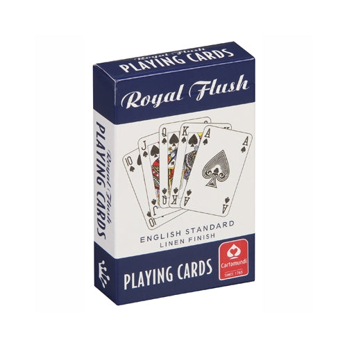 Royal Flush Playing Cards (BLUE)