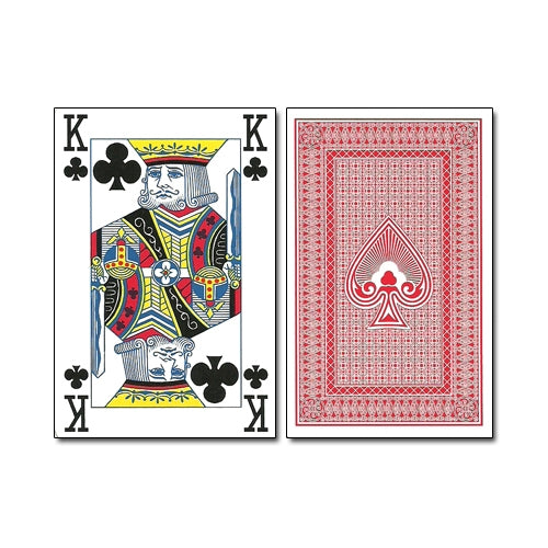 Royal Flush Playing Cards x 20 Packs (10 Red/10 Blue)