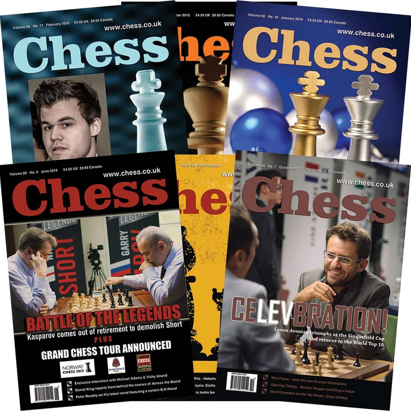 CHESS Magazine Subscription Renewal - Rest of World