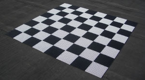 GS2: Giant Plastic Chess Board