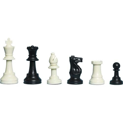 Club Combo D (5 weighted chess sets, folding boards and bags)