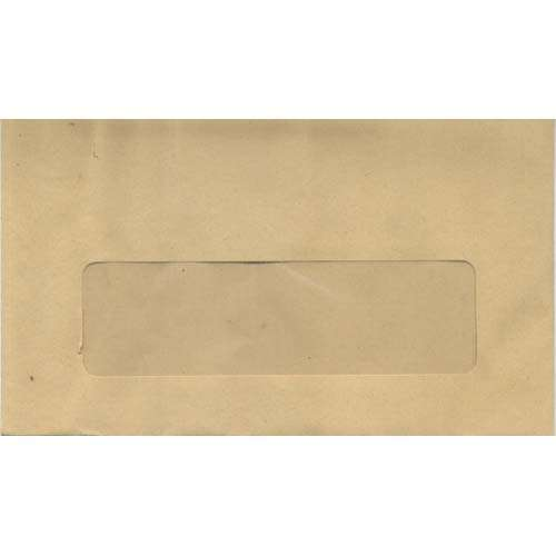 Correspondence Window Envelope x 100