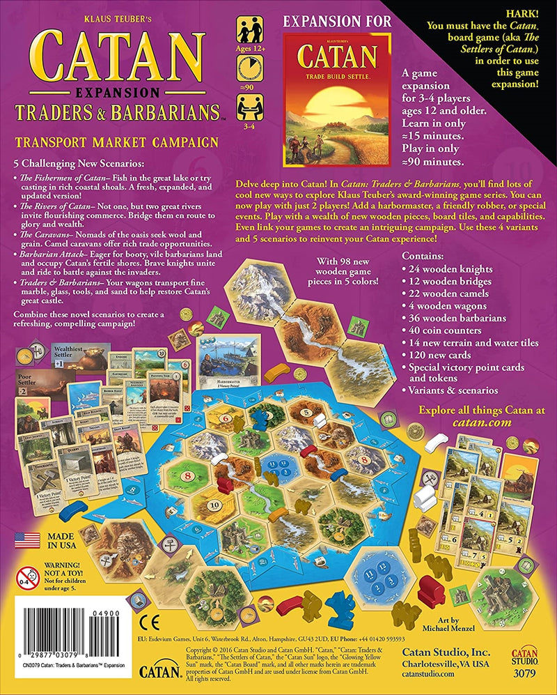 Catan Expansion - Traders & Barbarians