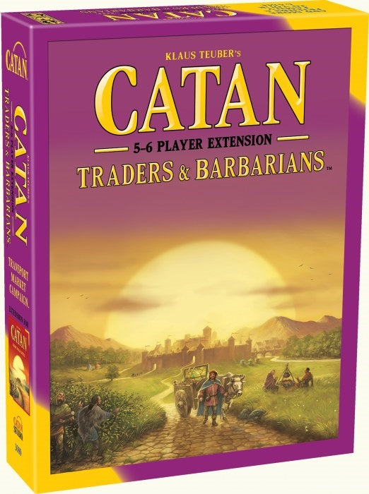 Catan 5-6 Player Extension - Traders & Barbarians