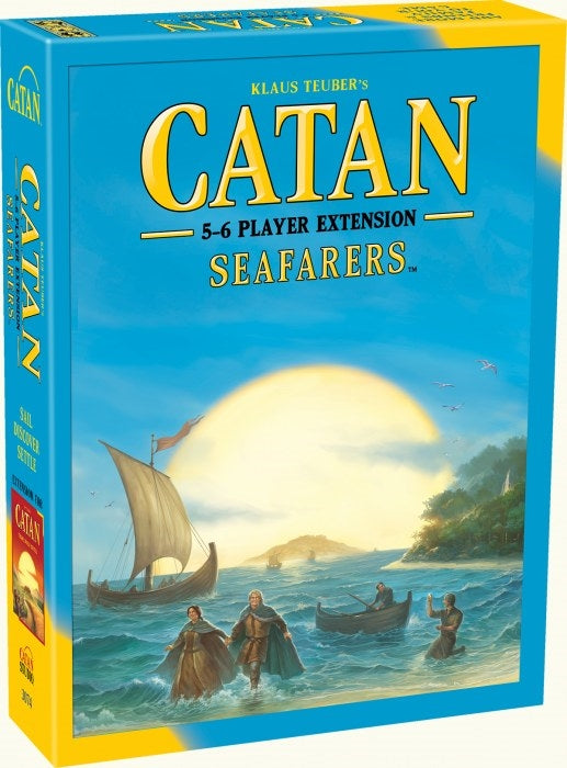 Catan 5-6 Player Extension - Seafarers