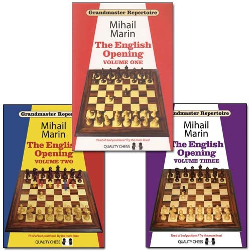 Grandmaster Repertoire: The English Opening All Three Volumes - Mihail Marin (Paperbacks)