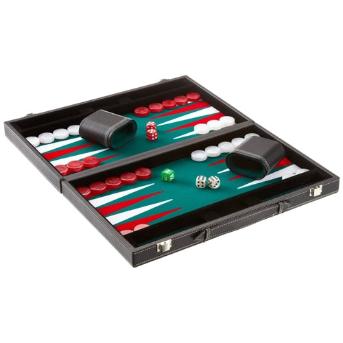Attache Style Backgammon Set - Medium