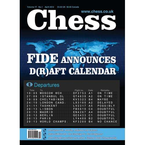 CHESS Magazine - April 2012
