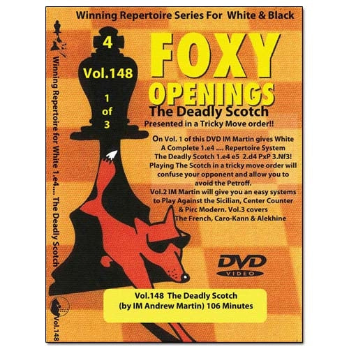 Foxy 148: The Deadly Scotch - Andrew Martin (DVD)