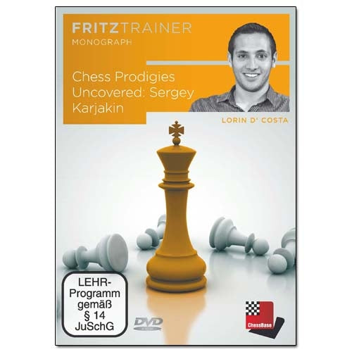 Chess Prodigies Uncovered: Sergey Karjakin - Lorin D'Costa (PC-DVD)