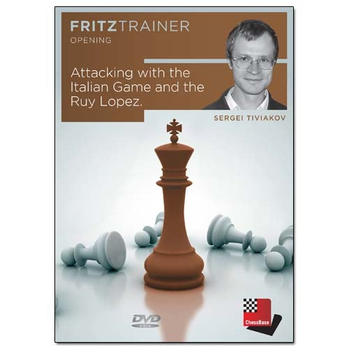 Attacking with the Italian Game and the Ruy Lopez - Sergei Tiviakov (PC-DVD)