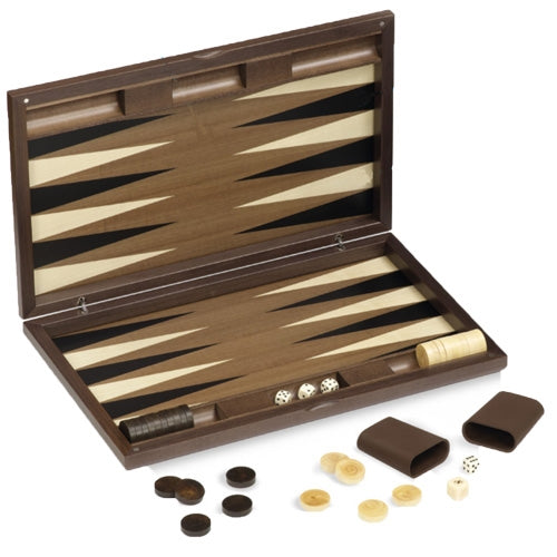 Dal Negro Luxury Wooden Backgammon Set - London
