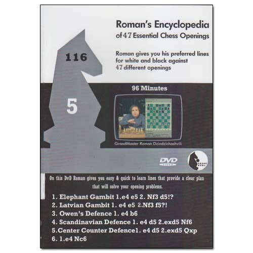 Romans Lab Vol 116 - Encyclopedia of Chess Openings Vol 5